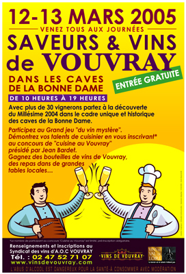 Saveurs & vins 2005 - Vouvray