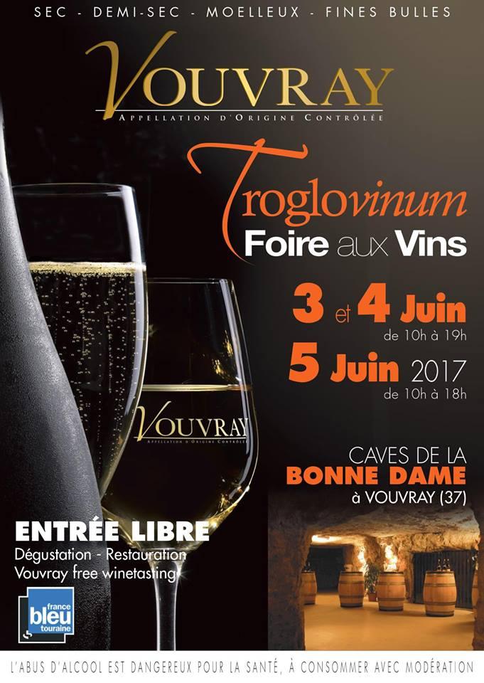 Troglovinum foire au vin vouvray aoc
